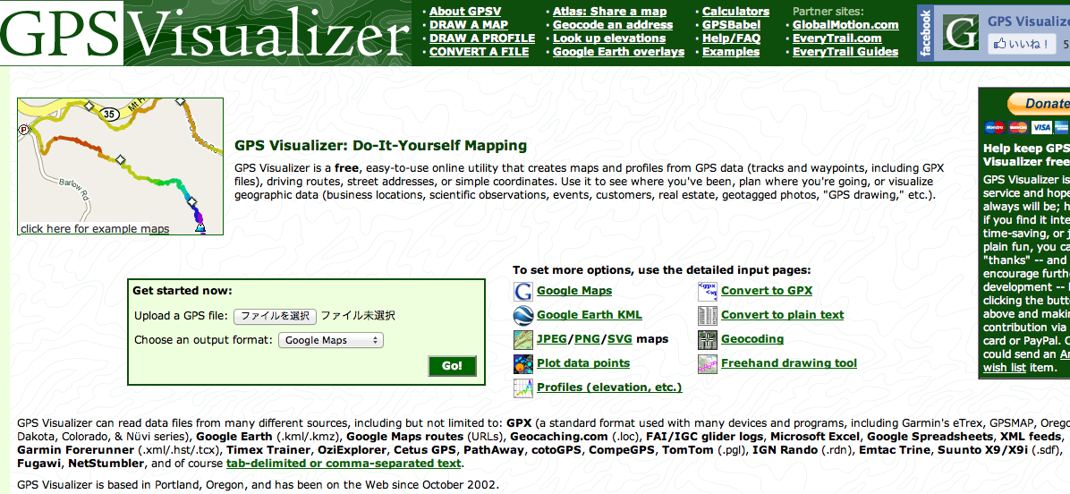GPS Visualizer